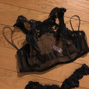 Agent Provocateur Intimates & Sleepwear - Agent Provocateur Special Edition Lace Halter Bra